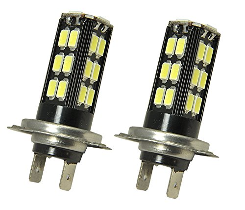 JDM One Pairs 12V 30W Samsung Chips 30 LED H7 Fit: High (High Performance Led Light)