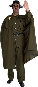 Disfraz de Guardia Civil con Capa para hombre: Amazon.es ...