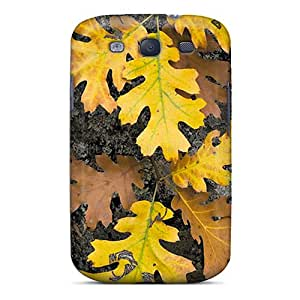 New Arrival Case Cover With JMrYc25352UsDco Design For Galaxy S3- Autumn Leaves