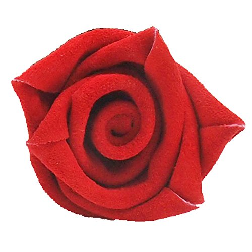 3rd Wedding Anniversary Gift Potted Leather Rose by JustPaperRoses (Image #1)