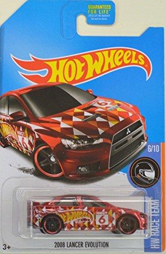 HOT WHEELS 2016 KMART DAYS RED RACE TEAM 2008 LANCER