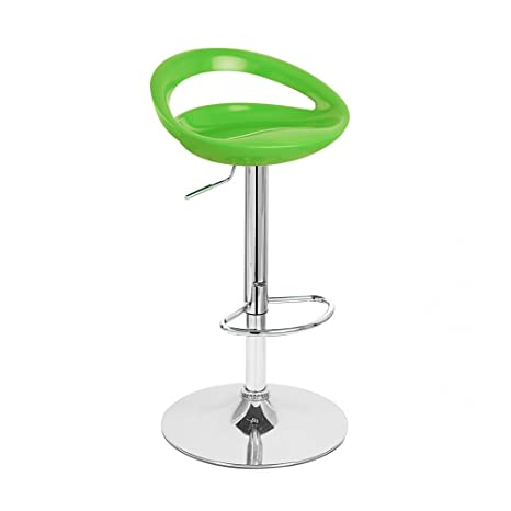 Excellent Rho Contemporary Adjustable Barstool Lime Green Ibusinesslaw Wood Chair Design Ideas Ibusinesslaworg