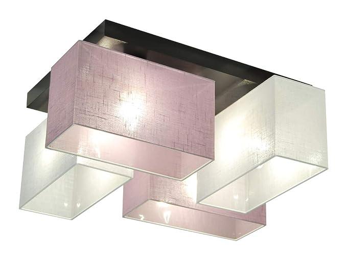 Plafoniere Inox Soffitto : Plafoniera illuminazione a soffitto jls welid in legno massiccio