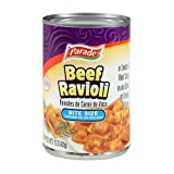 Cheap Parade Bite-Size Beef Ravioli, 15 Ounce (Pack of 24)