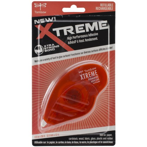 Xtreme Trim - Tombow Xtreme Adhesive Runner, Clear, 1-Pack
