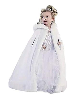 Vestido de Novia de Invierno cálido para niños Vestido de ...