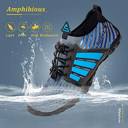 516RAW1lV2L. AC Water Shoes Mens Womens Beach Swim Shoes Quick-Dry Aqua Socks Pool Shoes for Surf Yoga Water Aerobics    Product Description