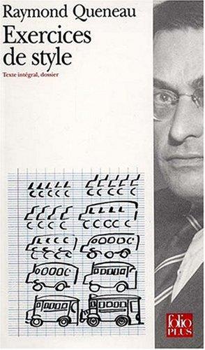 Amazon Fr Exercices De Style Queneau Raymond Renard Jean Pierre Livres