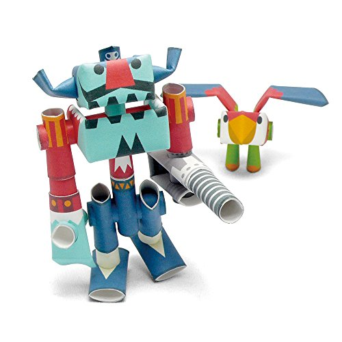 ll & Repeat paper craft robot kit from Japan - Pirate & His Partner (old package) ()