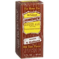 Homebrew Ginger Ale Concentrated Extract, 2-Ounce Boxes (Pack of 3)