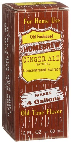 Homebrew Ginger Ale Concentrated Extract, 2-Ounce Boxes (Pack of ()