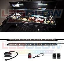 LEDGlow 2pc Truck Tool Box LED Lights