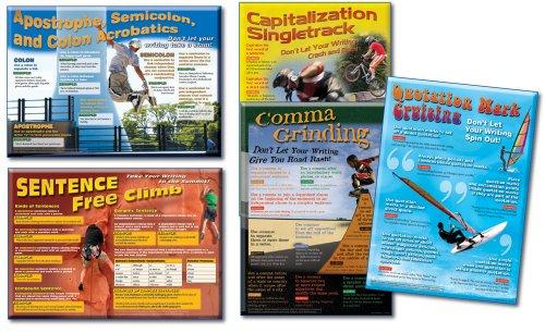 Carson Dellosa Mark Twain Language Arts: Capitalization and Punctuation Bulletin Board Set (410019) (Example Of Compound Complex Sentences In English)