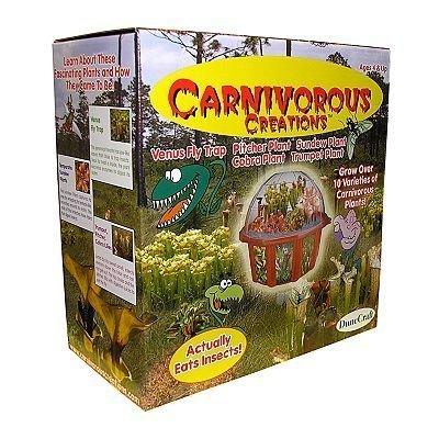 Carnivorous Creations Plant Terrarium Kit toy gift idea birthday by DuneCraft Carnivorous Creations Terrarium Kit