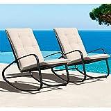 OC Orange-Casual Patio Furniture Rocking Chairs