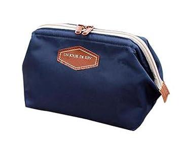 93cd3a31bf Amazon.com   Kikole Cute Women Lady Travel Makeup Bag Cosmetic pouch Clutch  Handbag Casual Purse Vests   Beauty