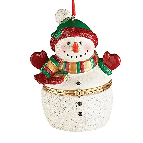 Trinket Box Christmas Tree Ornaments, Snowman