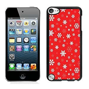 Individualization Christmas snowflake Black iPod Touch 5 Case 4 by Maris's Diary
