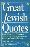 Great Jewish Quotes, Noah benShea, 0345383451