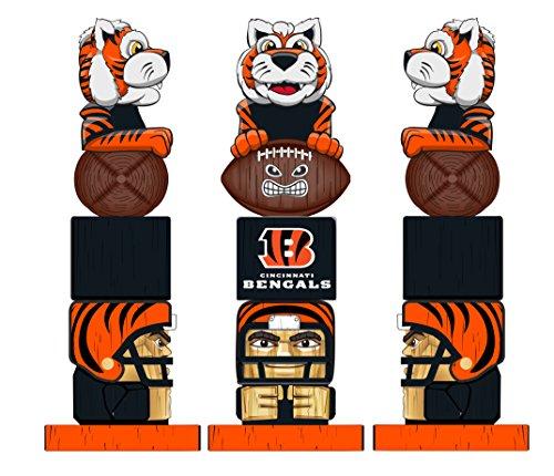 Team Sports America NFL Cincinnati Bengals Tiki Totem ()