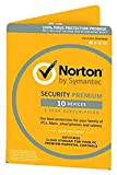Norton Security Premium | 10 Devices | 1 Year | PC/Mac/Android | Download