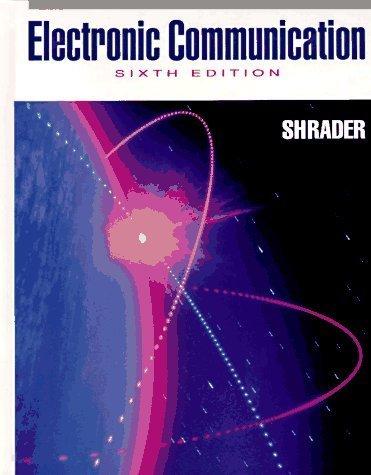 Electronic Communication: 6th (Sixfth) - Communication Electronics