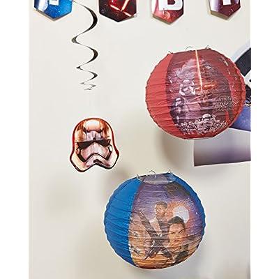 Star Wars Episode VII Value Pack Foil Swirl Decorations, Party Favor: Toys & Games