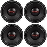 4 Beyma PRO10MI 10 350 Watt RMS Mid-Bass/Midrange Car Audio Speakers