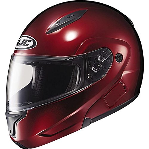 Hjc Cl Wine Max (HJC Mens CL-Max 2 Modular Motorcycle Helmet Wine Extra Small XS)