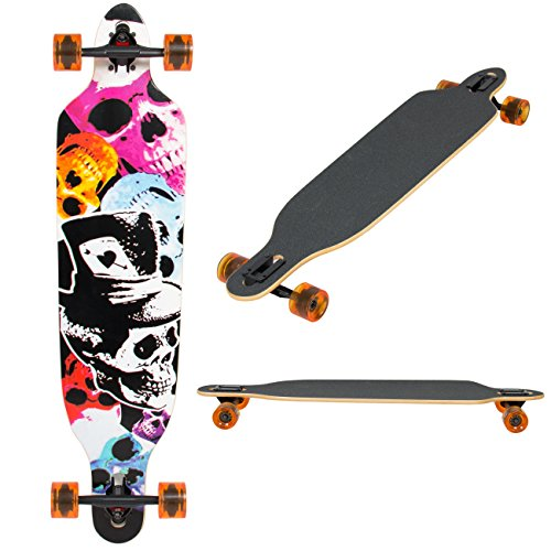 Best Choice Products Longboard Skateboard