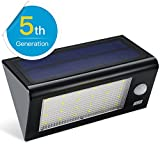 Solar Lights, [Upgrade Version]Amir® Solar Powered Motion Sensor Light, Solar Energy Led Security Lights with 4 Modes, Waterproof & Auto On/Off for Patio,Deck,Yard,Driveway,Outdoor - Bigger&Brighter