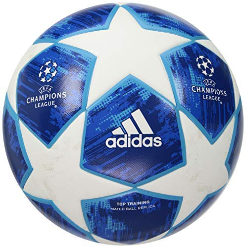 - adidas Performance Champions League Finale 18 Top Training Soccer Ball, Multicolor, Size 5