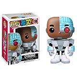 Funko Pop TV-Teen Titans Go, Cyborg Action Figure