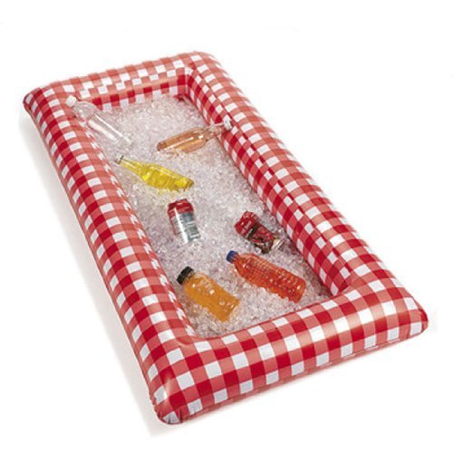 Fun Express OTC Red and White Checkered Inflatable