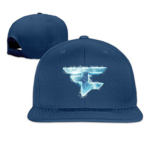 Price comparison product image Cool Unisex Faze Clan Template Baseball Caps Funny Navy
