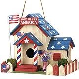 Smart Living Company 10015282 Patriotic Bird House