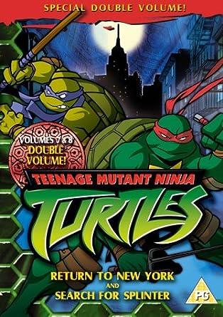 Teenage Mutant Ninja Turtles - Vols 7 And 8 Reino Unido DVD ...