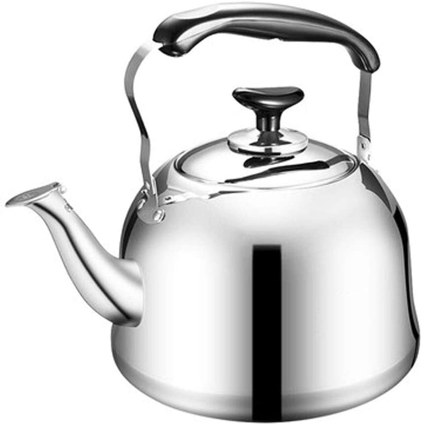 LCSHAN Stainless Steel Kettle 5L Large Capacity Household
