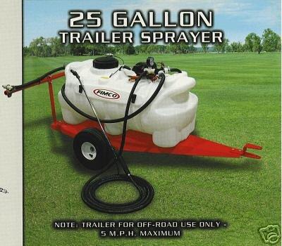 25-Gallon Trailer Sprayer
