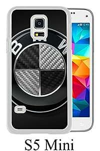BMW Logo White Unique Abstract Custom Samsung Galaxy S5 Mini Case