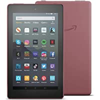 "All-new Fire 7 Tablet | 7"" display, 16 GB, Plum with Special Offers"