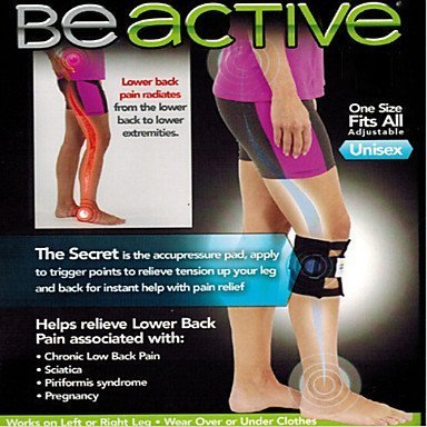 Zwc Beactive Pressure Point Brace Back Pain Acupressure Sciatic Nerve Be Active Elbow Knee Leg Pads