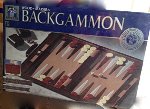 Classic Backgammon Set, Brown White by CHH