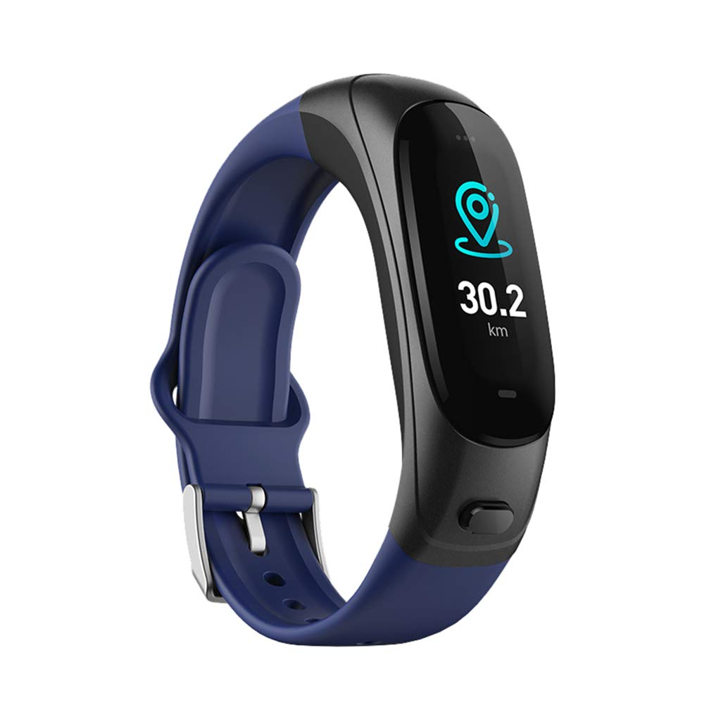 Health Tracker, Color Smart Sports Bracelet - Blood Pressure Heart Rate Monitor Smart Watch - for iOS and Android