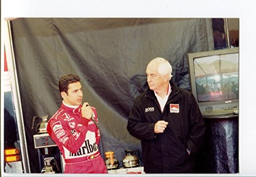 - Hélio Castroneves & Roger Penske INDYCAR Winner Race Photo Indy 500 FN
