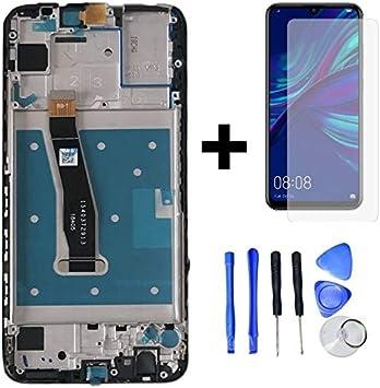 Hypak Pantalla IPS LCD para Huawei P Smart 2019 (Completa con Marco) Repuesto Cristal Tactil Digitalizador (Negro): Amazon.es: Electrónica