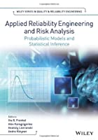 Applied Reliability Engineering and Risk Analysis Front Cover