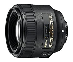 Nikon 85mm f/1.8G Auto Focus-S NIKKOR Lens for Nikon Digital SLR Cameras - Parent ASIN