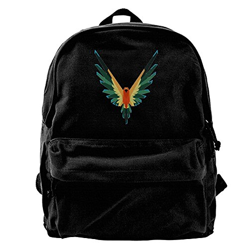 Logan Sun Conure Paul Fashion Canvas Shoulder Bag Backpack