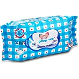 Poop-Cee Baby's Alcohol-free Wet Wipes (White)-80 Sheets